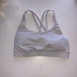 Lululemon white free to be bra